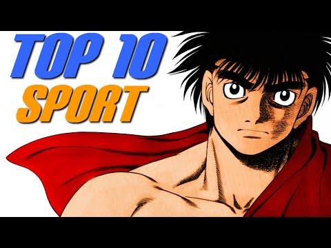 TOP 10 MANGAS/ANIME DE SPORT !