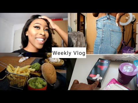 VLOG: TEMPORARY TATTOO,TORE MY JEANS, LUNCH WITH BESTIE + MALL HAUL
