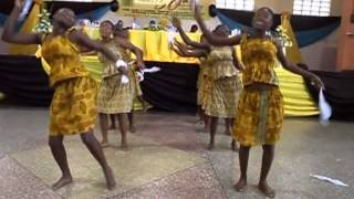 Awudome Cultural Group Performance, Volta Region, Ghana (part 1 of 2)