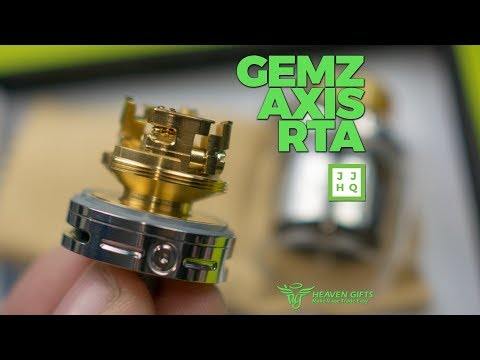 Gems Axis RTA - Dual Deck - a Heaven Gifts Exclusive! | VapeAM Ep 129