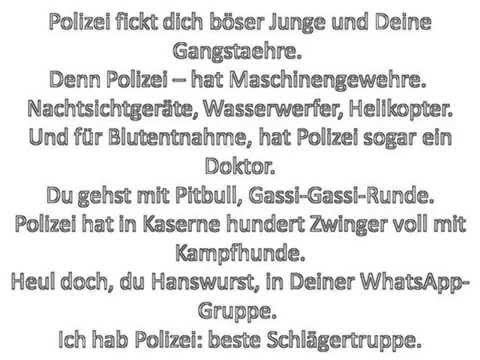 POL1Z1STENS0HN a.k.a. Jan Böhmermann - Ich hab Polizei