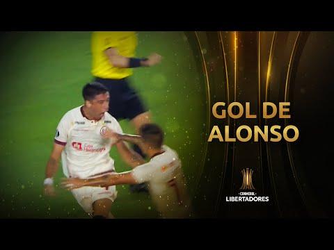 Gol de Federico Alonso | Universitario vs Carabobo [1-0] | CONMEBOL Libertadores