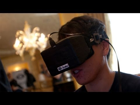 CES 2013: Hands-On with the Oculus Rift Virtual Reality Headset