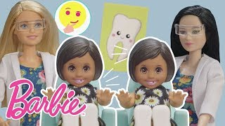 Barbie Dentist Dolls Find Themselves in Double Trouble | Barbie & Friends | Barbie