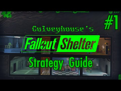 Fallout Shelter Strategy Guide, Part 1: Kickstarting Your New Vault & How to Place Rooms