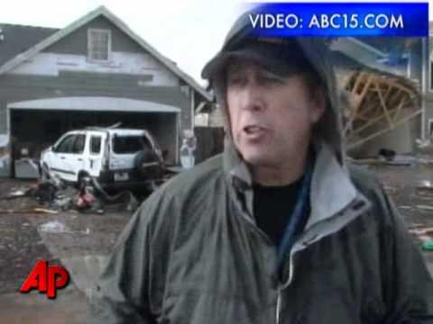 3 Tornadoes Tear Across N. Arizona, Damage Homes