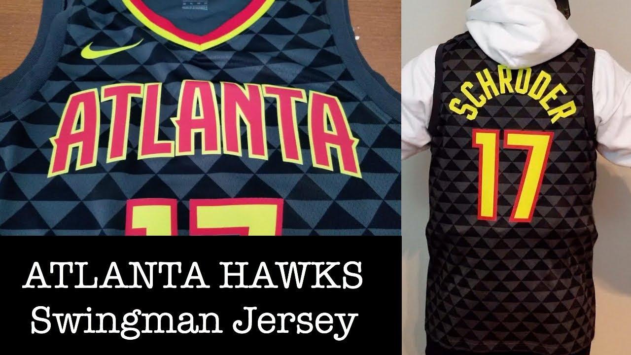 size 40 2c730 d75dd Nike x Atlanta Hawks Icon Edition Swingman Jersey Review