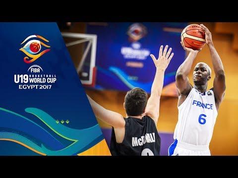 France v New Zealand - Full Game - FIBA U19 Basketball World Cup 2017