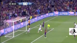 اهداف مباراة برشلونة وبايرن ميونخ 3 0 دوري ابطال اوروبا  6  5  2015 HD