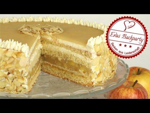 Apfel Marzipan Torte Apfeltorte Mit Marzipan Marzipantorte