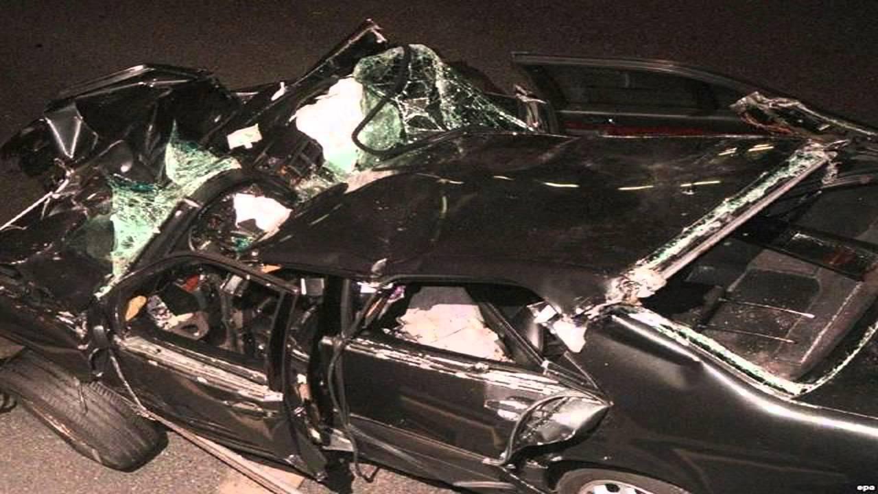 Diana Car Crash Body