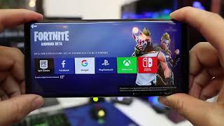 Fortnite on Android! Galaxy Note 9 **GAMEPLAY FOOTAGE**