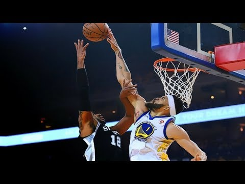 Golden State Warriors vs San Antonio Spurs Game Highlights / Game 1 / 2018 NBA Playoffs