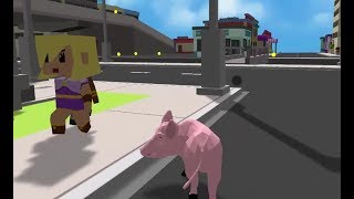 CRAZY PIG SIMULATOR GAME MISSION 21-25 WALKTHROUGH