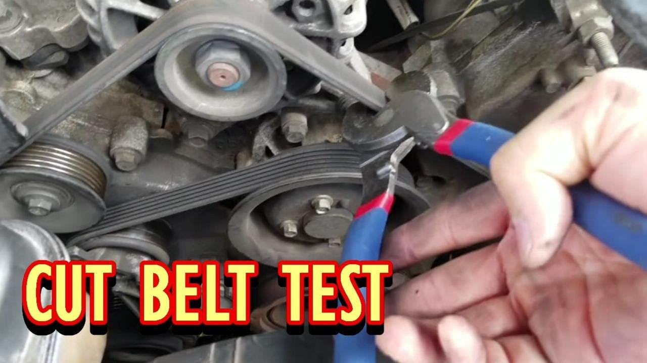 if Serpentine Belt breaks  will car start and run?  YouTube