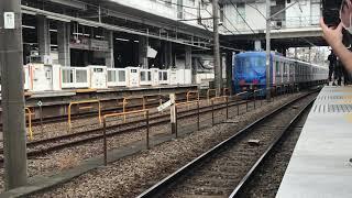 18000系甲種輸送 長津田検車区入線