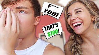 PAYING EACH OTHER $100 Every Time We Say... (BAD IDEA)