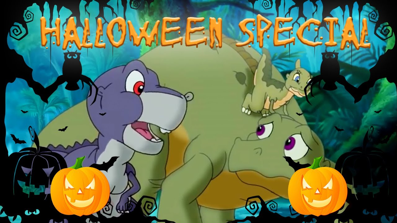 🎃Spooky Stories In The Dark 🎃   The Land Before Time   Full Episode   Animated Cartoons For Children