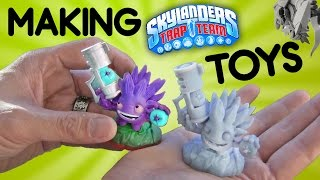 Making Skylanders Trap Team Toys: Timelapse 3d Printing & Quick Overview