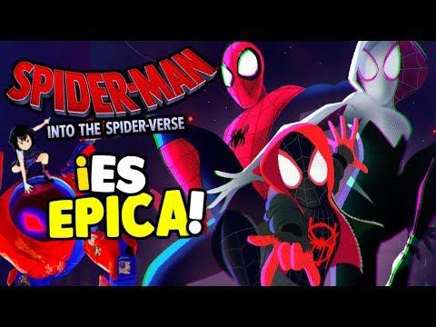 Spider-Man Into The Spider-Verse TODO LO QUE AME