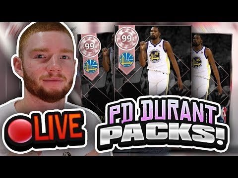 Live Pink Diamond Durant Huge Pack Opening Playoff