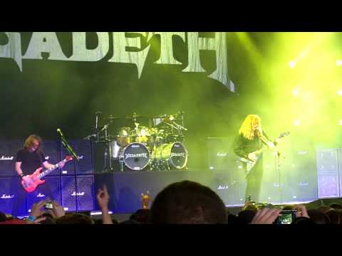 Megadeth - Live at Rockstar Mayhem Festival - July 12th, 2011