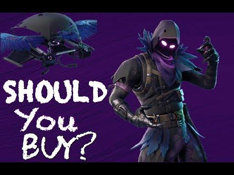 Fortnite Raven Skin Review Should You Buy It Fortnite Battle Royale