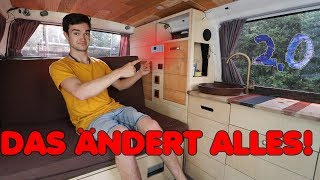 Neues BEDIENPANEL für meinen VW T4 BUS - ALLES AUF EINEN BLICK | F.09 Umbau 2.0