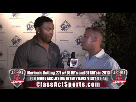 Marlon Byrd All Star Weekend Interview w/ Jared Ginsberg of Class Act Sports (July 2013)