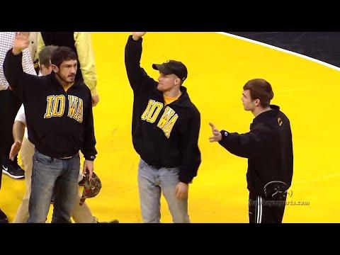 Wrestling - Iowa 33, Northwestern 2