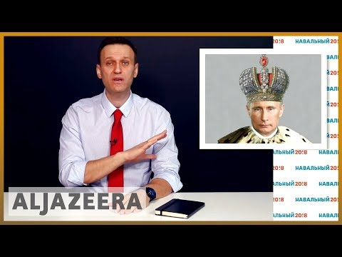 Russian opposition leader Navalny 'detained at anti-Putin rally' | Al Jazeera English