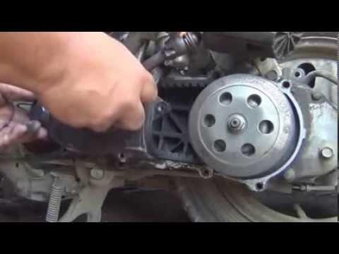 honda tact 16 двигатель
