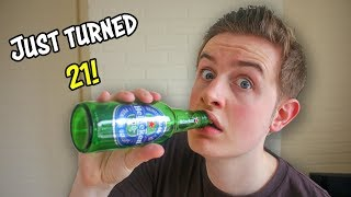 Tasting Beer for the First Time!