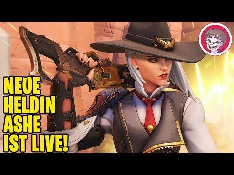 OVERWATCH 🎮 Die NEUE Heldin Ashe ist LIVE! (Gameplay Deutsch/German PC)