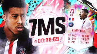 SUMMER HEAT KIMPEMBE 7 MINUTE SQUAD BUILDER! #FIFA20 Ultimate Team