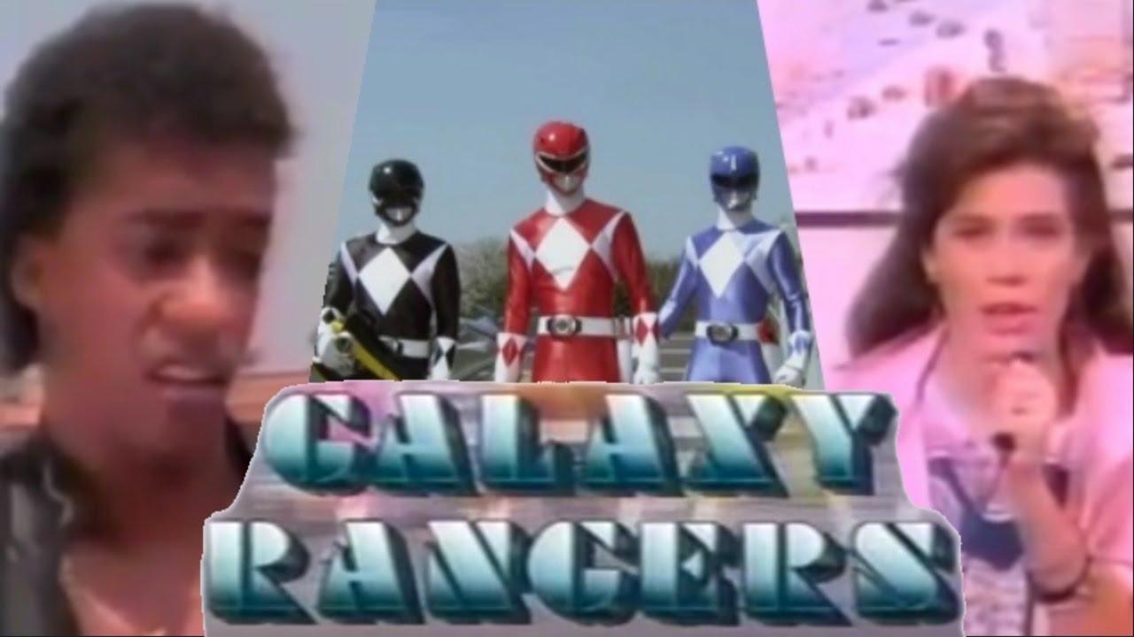 Galaxy Rangers: The TRUE Origins of the Power Rangers!