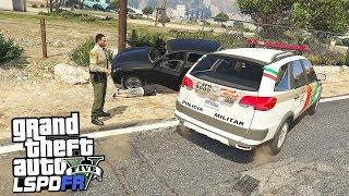 GTA V Rotina Policial - Acidente Fatal PMSC #67 Gameplay