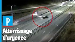 Etats-Unis : un avion de tourisme atterrit sur une autoroute et s'encastre contre un SUV