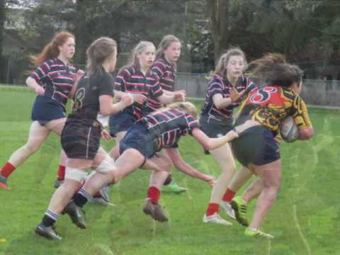 Yale Secondary Girls Rugby 2017 (No Sound)