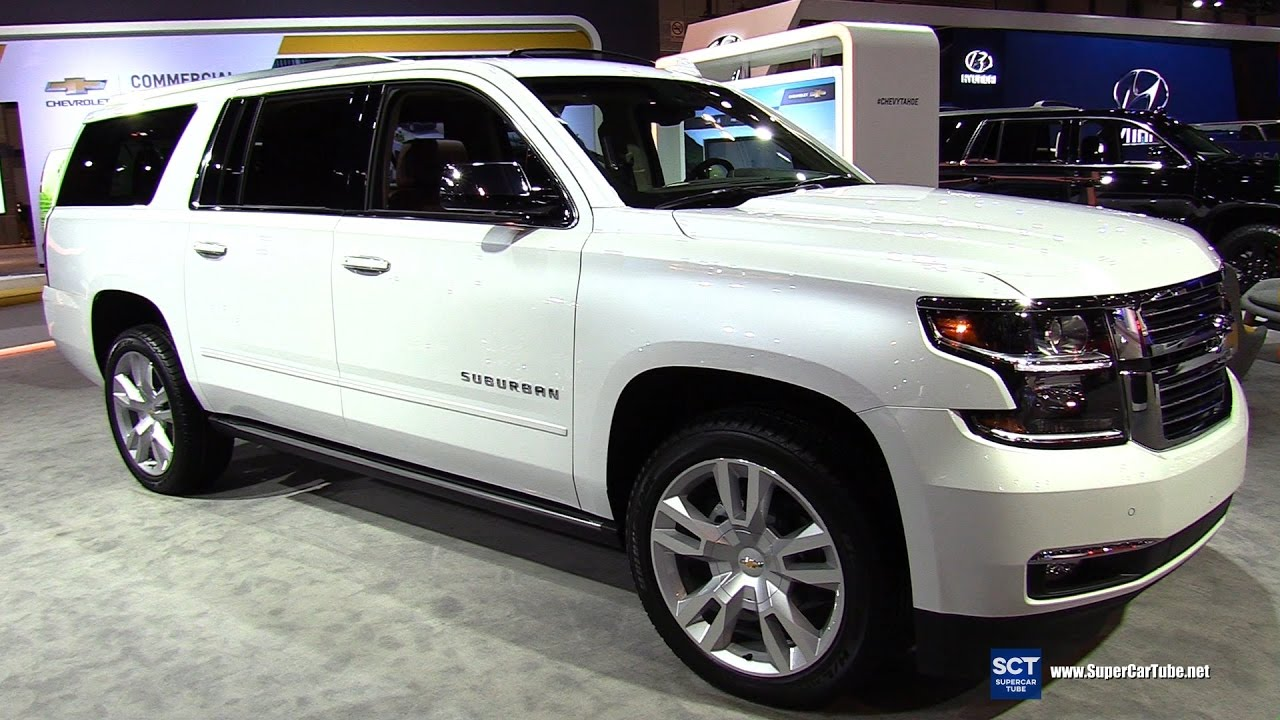 2017 Chevrolet Suburban Premier - Exterior and Interior ...