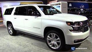 2017 Chevrolet Suburban Premier - Exterior and Interior Walkaround - 2017 Chicago Auto Show