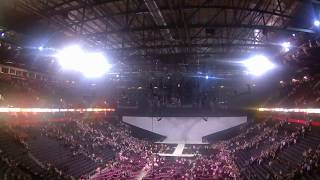 Moments inside Manchester Arena right after the explosion on Ariana Grande