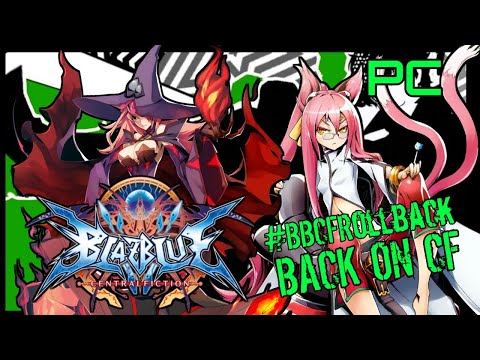 This game needs rollback. BlazBlue Central Fiction PC  