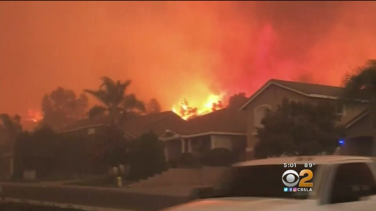 Holy Fire's Ongoing Course Reversal Adding To Difficulty Fighting Blaze, Now At 18,000 Acres