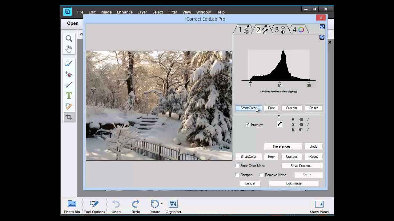how to change color in photoshop elements