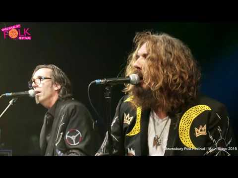 Blackie and the Rodeo Kings at Shrewsbury Folk Festival 2016