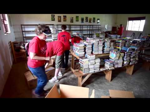 Libraries of Love at work in Uganda