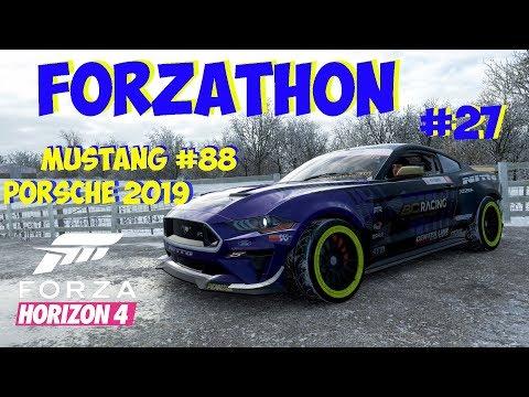 Forza Horizon 4 Forzathon Porsche + RTR #88 Mustang thumbnail