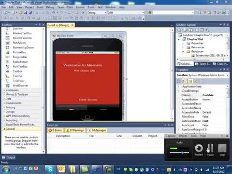Visual Studio C# GUI Part 1