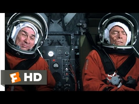 Space Cowboys (4/10) Movie CLIP - First One To Pass Out (2000) HD